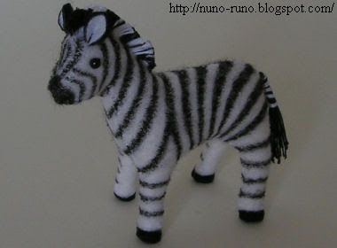 Pattern for stuffed horse