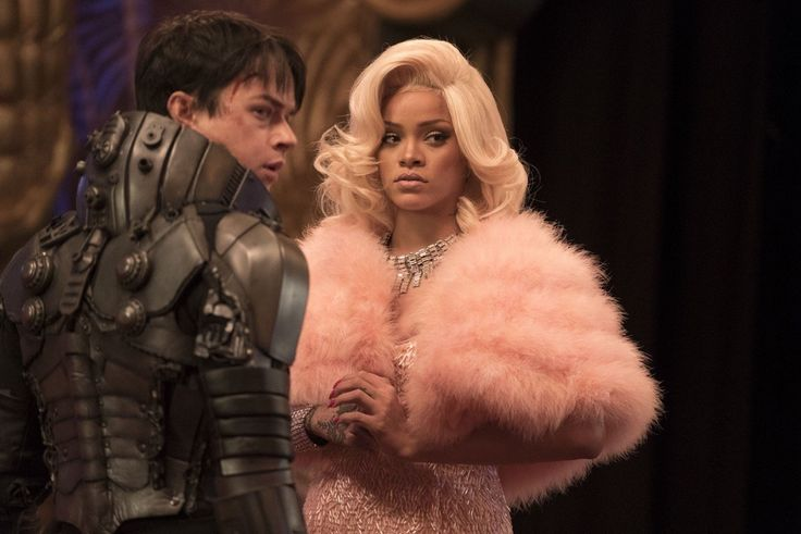 "Rihanna in ""Valerian and the City of a Thousand Planets """