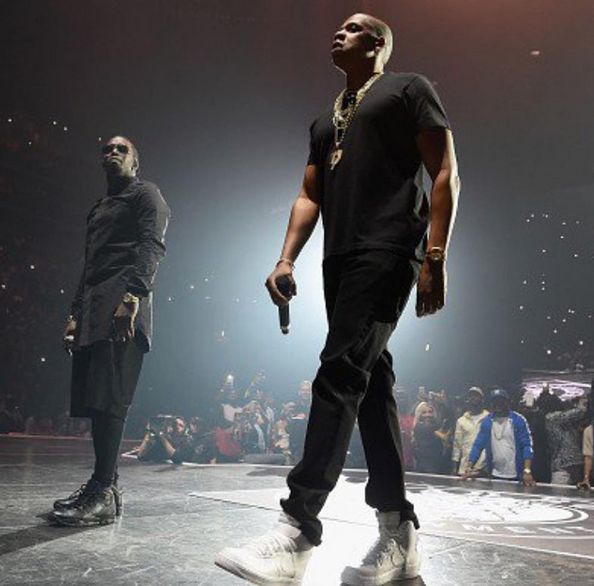 YES!!!!! BAD BOY REUNION – Jay Z Causes A Frenzy, Diddy Busts His Dance Moves, Lil Kim's BOOTYLICIOUS Set, Nas' Fur Coat With A Train & MUCH More! [PICS & VIDEOS]