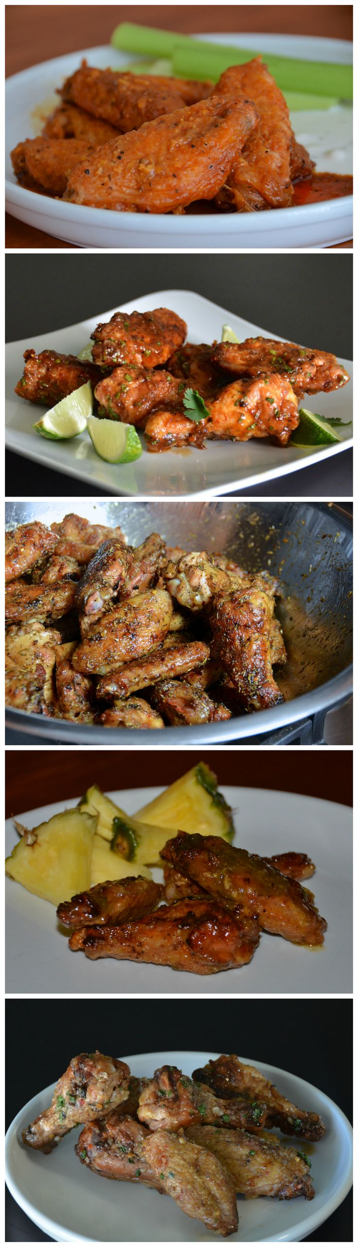 5 chicken wing recipes cooked on the Big Green Egg | Necessary Indulgences