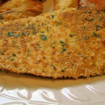Baked Parmesan Tilapia Recipe. I didn't use mayo like the recipe said and it was still really good