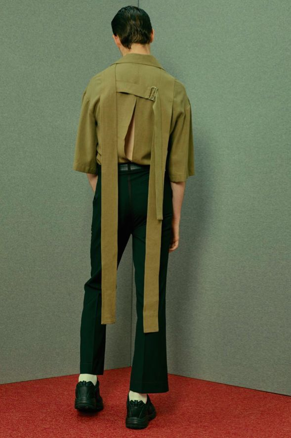 Central Saint Martins graduated menswear designer, Chin, dives into the gritty world of Christer Strömholm and Paris's mid-century transsexuals.