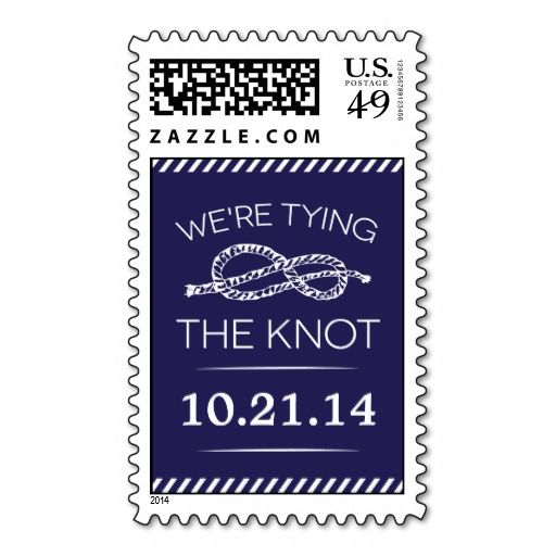 Best The Knot Postage Stamps Images On   Wedding