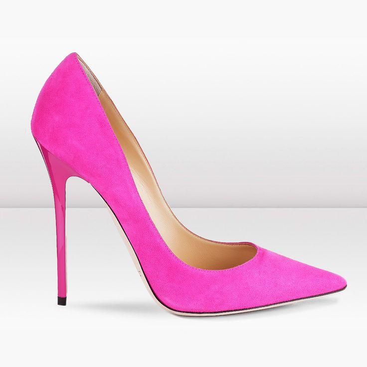 Jimmy Choo shoes; these will definitely brighten up any outfit. The pointed toe is on trend too
