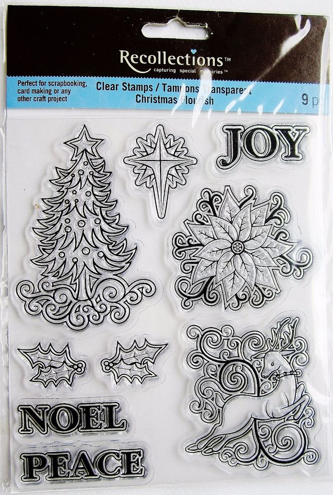 Clear acrylic, Stamp sets and Noel on Pinterest