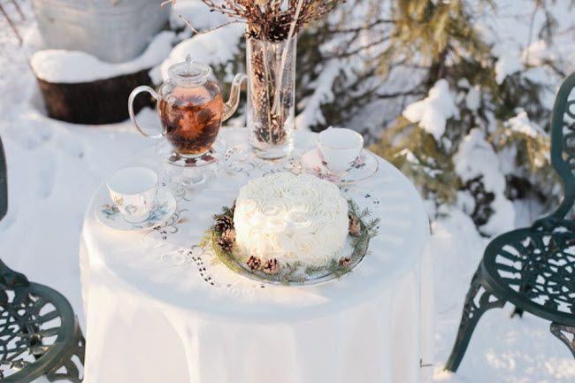 зимнее свадебное чаепитие 2
