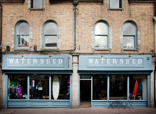 Watershed Store, Newquay, uk