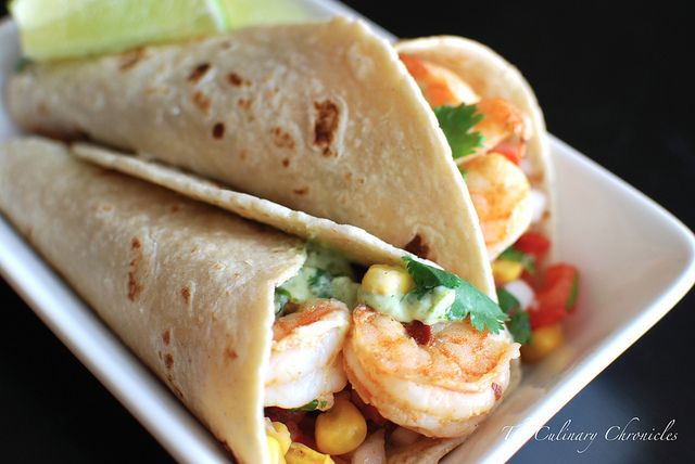 Grilled Shrimp Tacos by theculinarychronicles #TAcoo #Shrimp #theculinarychronicles