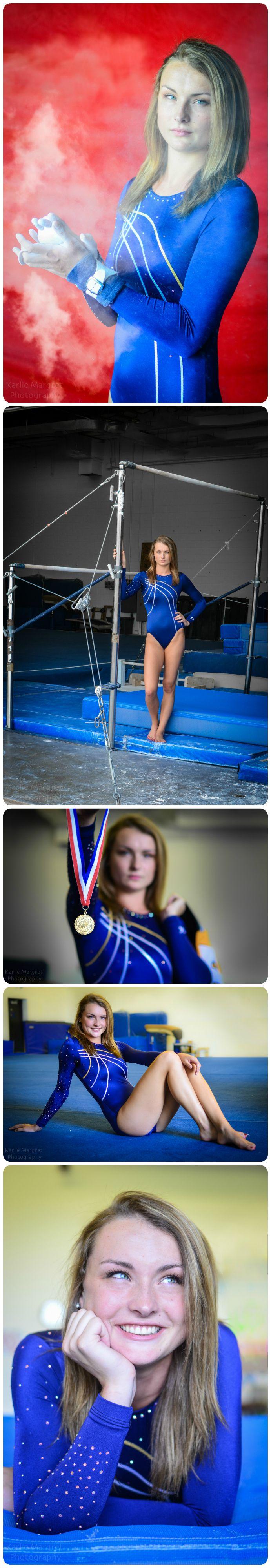 Gymnastics Senior Portraits // Sonja