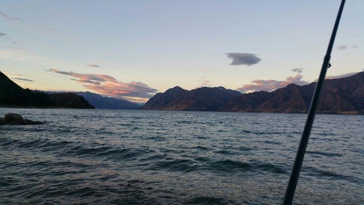 Forellenangeln am Lake Pearson