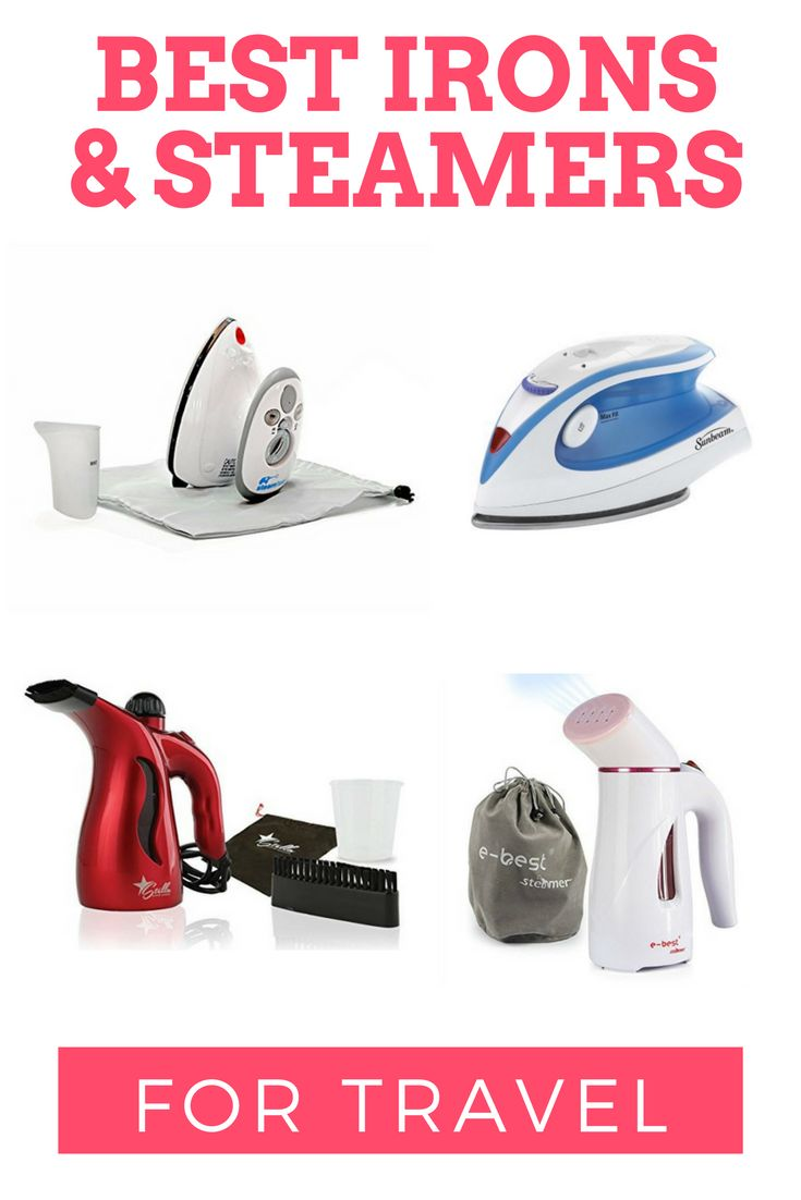 The Best Irons and Steamers for Travel: I've put together a list of the best travel irons and steamers so your wardrobe looks it's best on your travels!