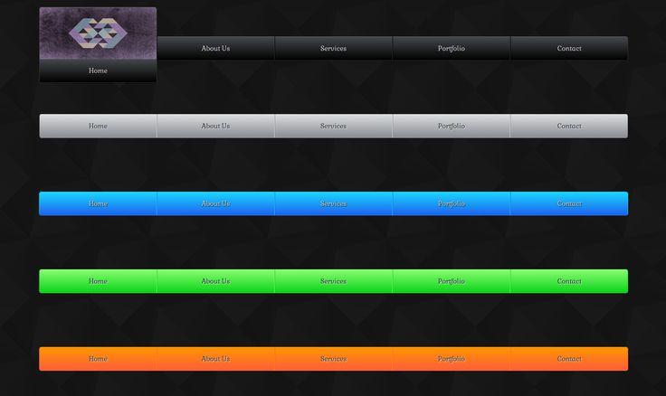 Free Animated Responsive CSS3 HTML5 Image Slide Up Menu Template