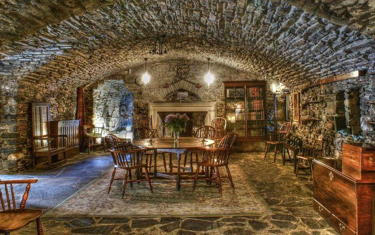 The Billeting Room At Eilean Donan Castle