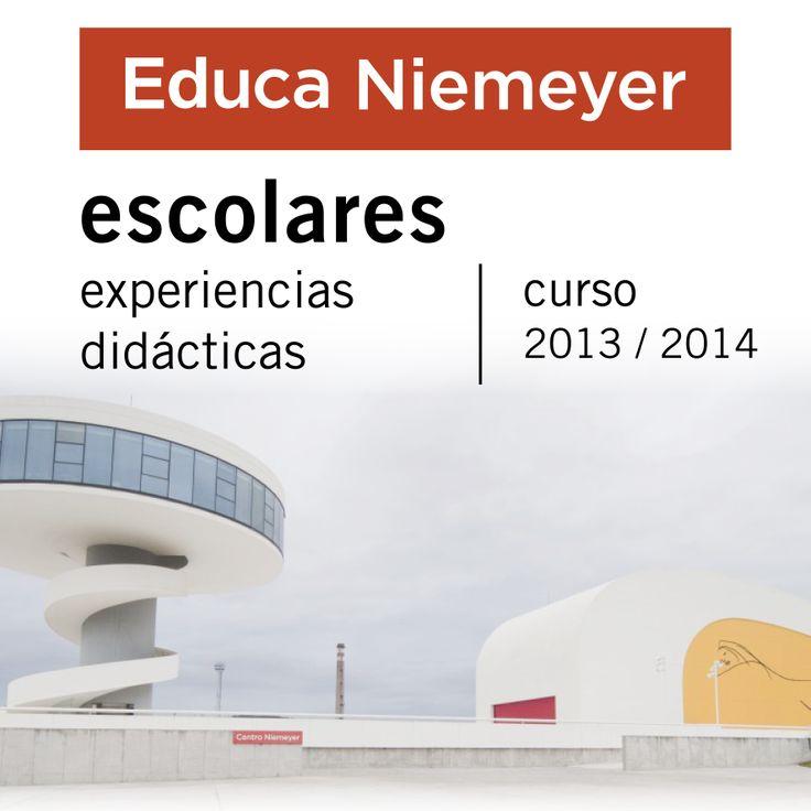 """Experiencias didácticas para escolares activas en este momento en el Centro Niemeyer: 1 - """"Art-Kids-Tectos"""" (Activa todo el curso 2013-14) 2 - """"Geometría, Arte y Matemáticas. La forma de la escultura en la obra de Sebastián"""".  3 - """"Contexto y narración en fotografía: Gervasio Sánchez"""".  ¡Reserva on-line tu plaza!"""