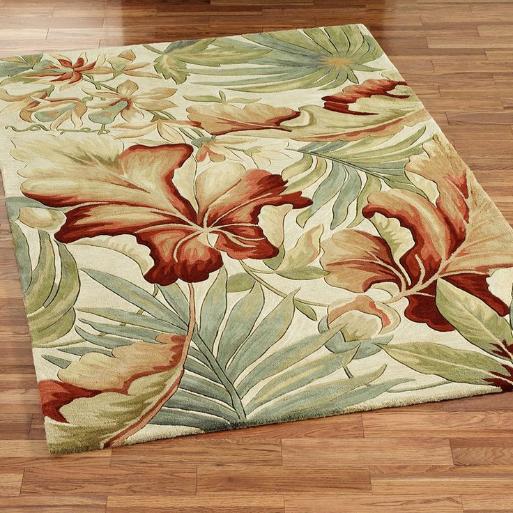 45 Best Tropical Rugs Images On Pinterest