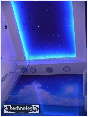 Gwieździste Niebo w suficie łazienki