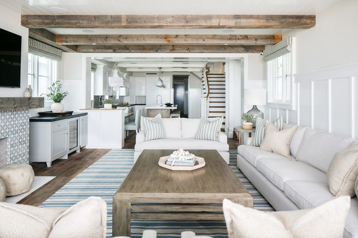 lovely beach house living room | 2372 best images about Lovely Living Rooms on Pinterest ...