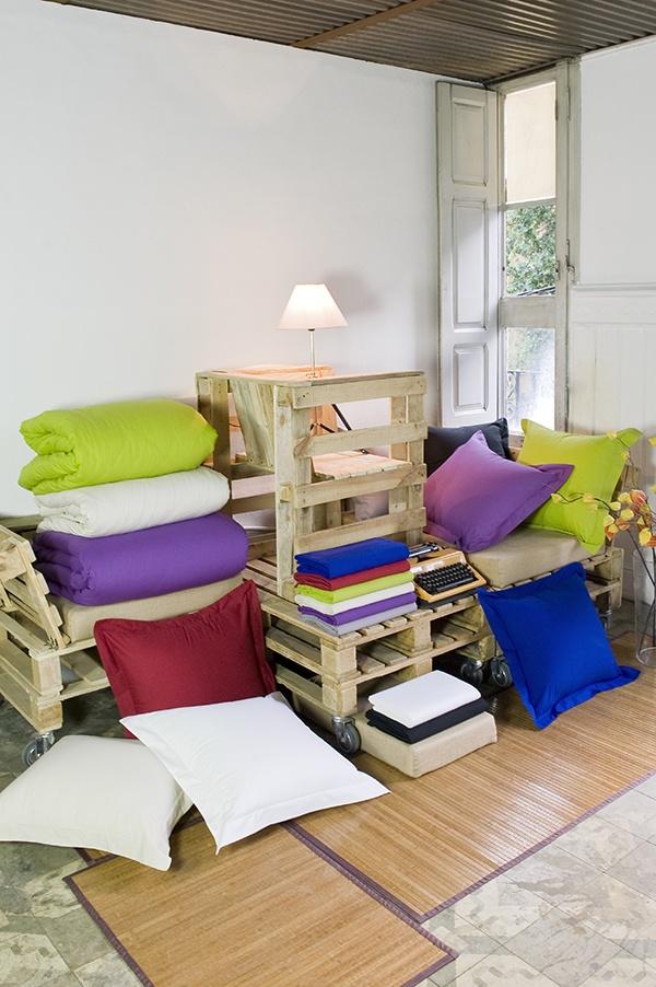 Un hogar lleno de color. #decoración #hogar