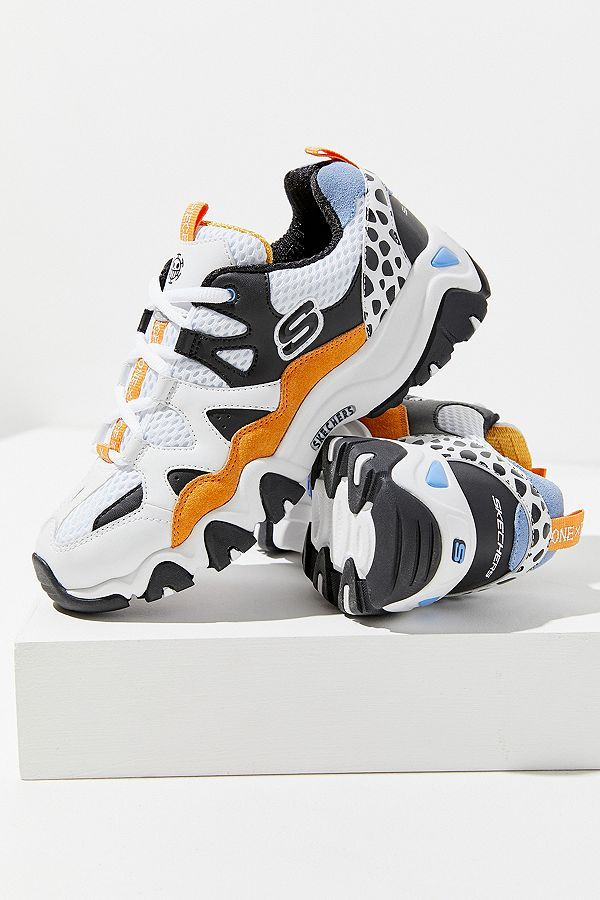 a43626502f95 Skechers D Lites One Piece Orange Trainers - 105€  theradicalblog   falloutfits  urbanoutfitters  trainers  skechers