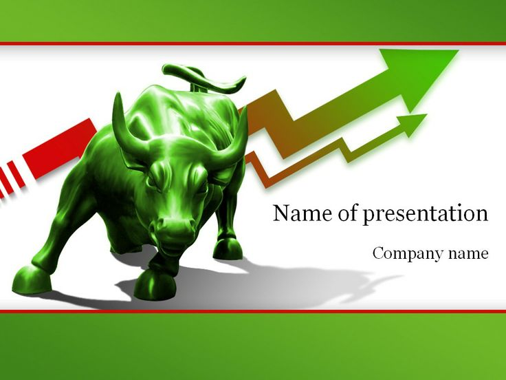 Stock Market Powerpoint Template  Templates    Stock