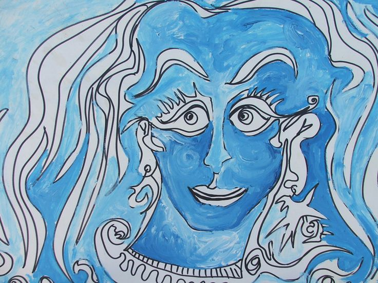 Dipinti di Romano Botti - Visi di donna