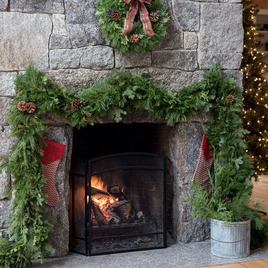 62 best Our Fresh Christmas Wreaths & Holiday Table Centerpieces ...