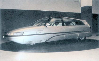 Citroen Eole Concept - Paris'85?
