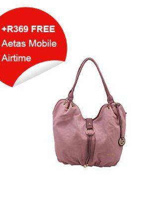 Black Cherry Casual Bag (Blush)