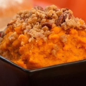 Mashed Bourbon Maple Sweet Potatoes | Vegetarian | Pinterest | Sweets ...
