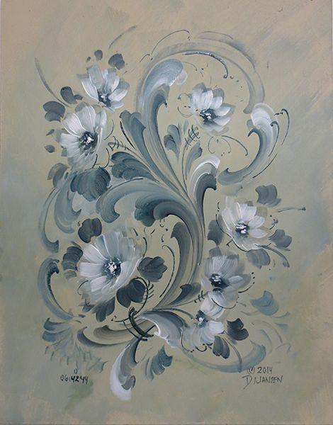 Jansen Art Online Store - B5017 Rosemaling Inspirations, $34.95 (http://www.jansenartstore.com/b5017-rosemaling-inspirations/)