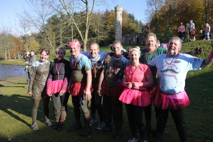 Muddy fun run at Hardwick Park.  Filthy, dirty, fun.  www.durham.gov.uk/hardwickpark