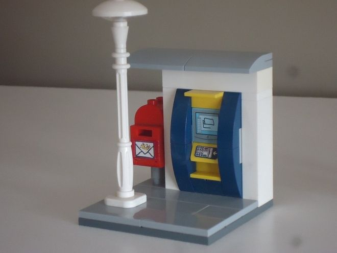 LEGO Ideas - City Bank ATM