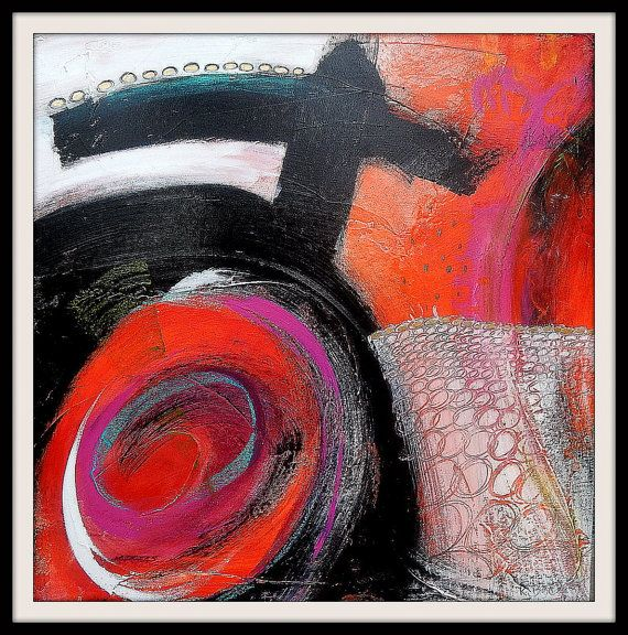 Original Abstract Painting by Kim Bosco by MAUSART on Etsy