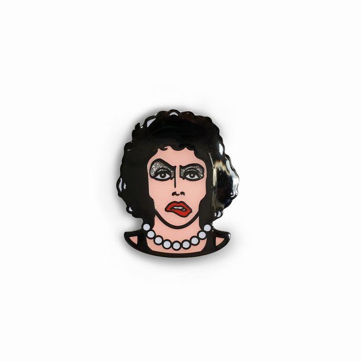 Titillated Transvestite Enamel Pin – Creepy Co.