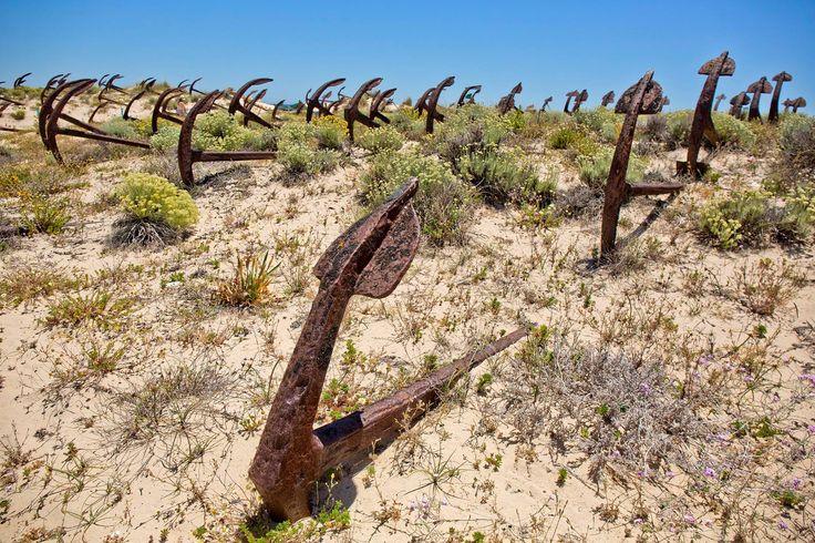 Anchors cemetery. Tavira, Algarve, Portugal. Photo by @akaljuvee