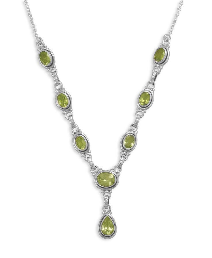 Peridot Heart & White Freshwater Pearl Bezel Pendant .925 Sterling Silver Rhodium Finish C5d864j