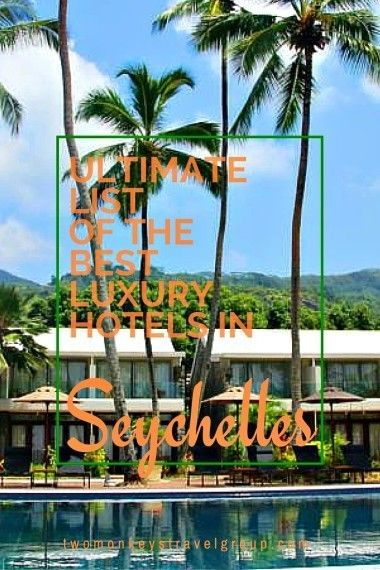 Ultimate List of the Best Luxury Hotels in Seychelles. In this article, you will find the following – Best luxury hotels in La Digue; Best luxury hotels in Victoria; Best luxury hotels in Baie Sainte Anne; Best luxury hotels in Grand'Anse Praslin; Best luxury hotels in Beau Vallon; and Best luxury hotels in Anse Royale. Providing you the ultimate list of the BEST LUXURY HOTELS IN SEYCHELLES – includes rates, locations and great reviews.