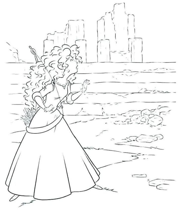 Brave Coloring Pages For Kids. The core story of this film