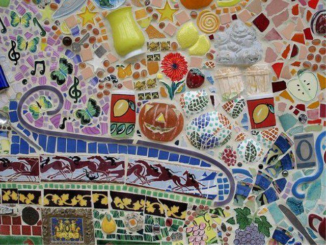 Оригинальная мозаика своими руками: декор из битой посуды