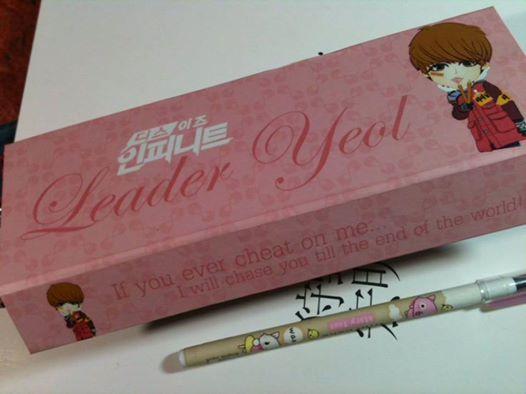 Pencil BOX INFINITE    TII - Leadernim (Leader Yeol ver.)