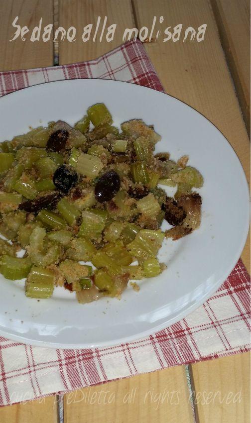 Sedano alla molisana, ricetta, cucina preDiletta
