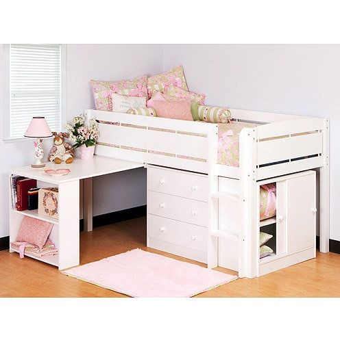 Best 25 bed with desk underneath ideas on pinterest bunk bed with desk bunk bed desk and - Bunk bed with desk under it ...