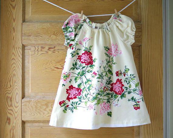 Tablecloth dress!