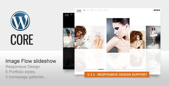 Core v3.5 Minimalist Photography Portfolio WP Themeforest - Wordpress :: Themeforest
