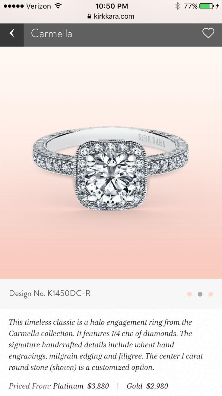 187 best Wedding-Rings images on Pinterest   Diamond engagement ring ...