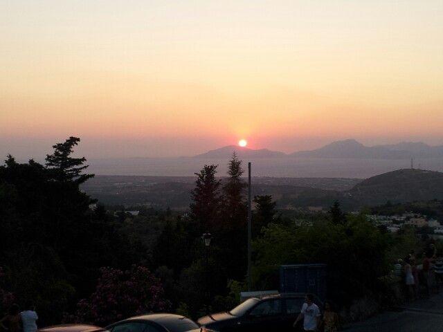 sunset ✌ #overthetop #zia #kos