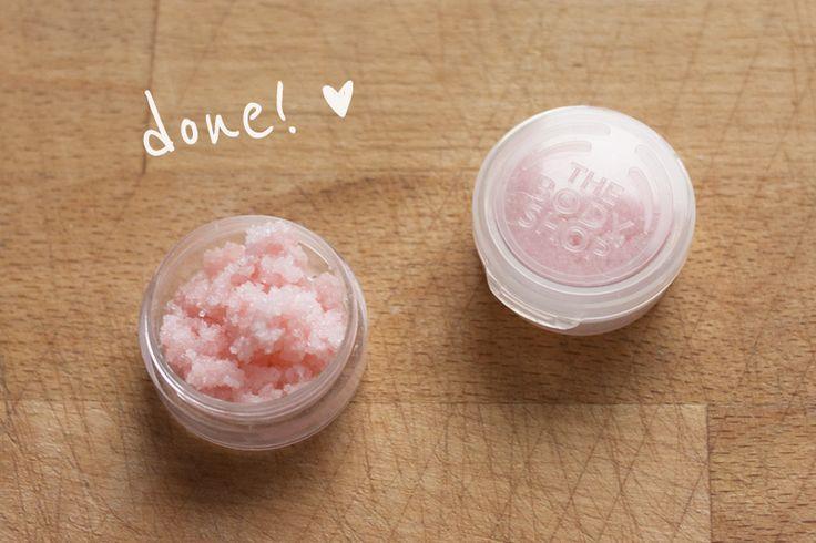 rougeimaginaire: DIY lip scrub