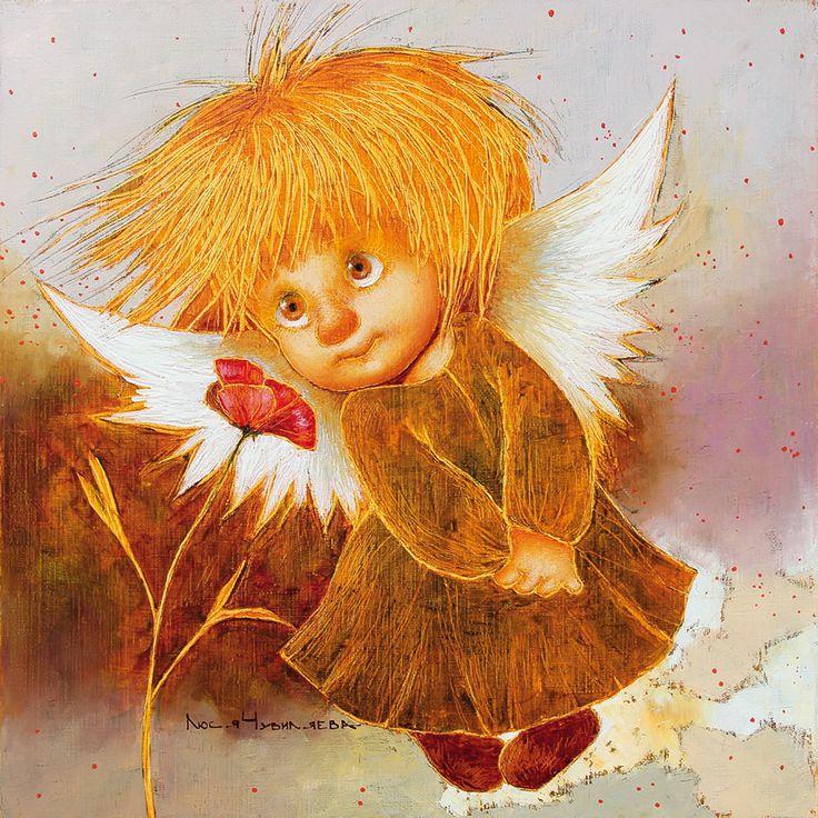 Картинки веселые ангелы