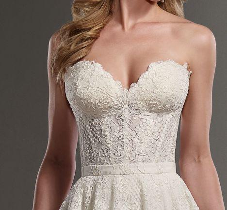 Martina Liana - Carmen Corset @ Town & Country Bridal Boutique - St. Louis, MO - www.townandcountrybride.com