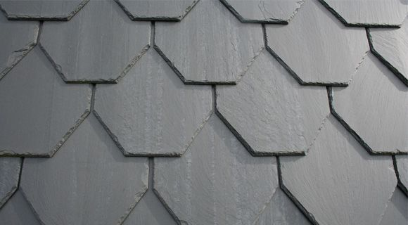 Unfading Black roofing slate from Quebec